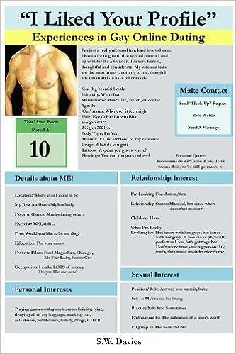 Online gay dating profil exempel