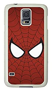 galaxy s5 case,custom samsung galaxy s5 case,TPU Material,Drop Protection,Shock Absorbent,white case,cute cartoon pattern,Spider-Man