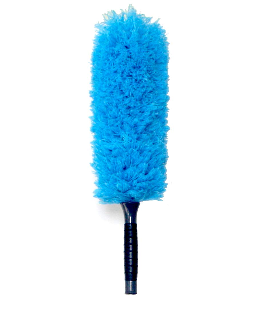EVERSPROUT Microfiber Feather Duster | Extra-Long 22'' Brush Head with Handle | Lightweight, Attracts Dust | Twists onto Standard Acme Threaded Pole | (Duster Attachment Only, No Pole)