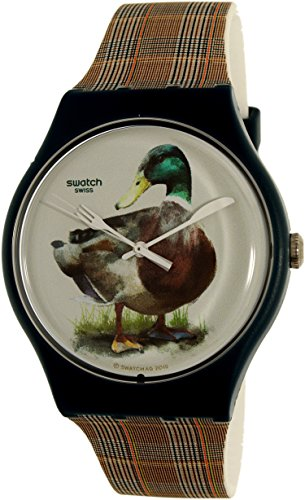 Swatch Men's Magies D'Hiver SUON118 Multi Silicone Swiss Quartz Watch