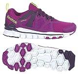 Reebok Women's Hexaffect Run 2.0 MT Running Shoe, Fierce Fuchsia/Royal Orchid/Solar Yellow/White, 6.5 M US For Sale