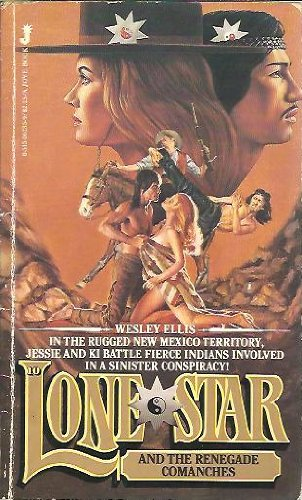 book cover of The Renegade Comanches