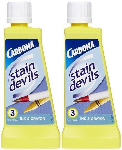 Carbona Stain Devils №3 Ink & Crayon, 1.7 oz (Pack of 2)