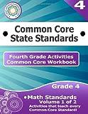 Fourth Grade Common Core Workbook: Math Activities, CoreCommonStandards.com, 1499183828