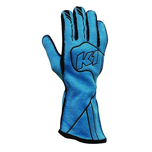 K1 RaceGear 23-CHP-FB-XL Champ Auto Racing Nomex Gloves - SFI 3.3/5 Premium Auto Racing (Line Double Layer Suit)