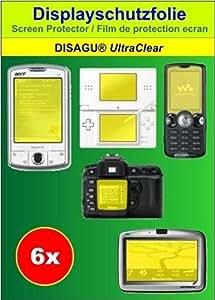 Conjunto de 6 láminas protectoras de pantalla Ultra Claras para HTC Golf