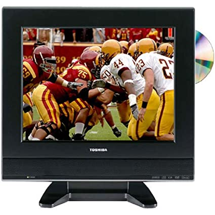 77d199472bb9 Amazon.com: Toshiba 15DLV77 15-Inch LCD TV with Built-In DVD Player:  Electronics