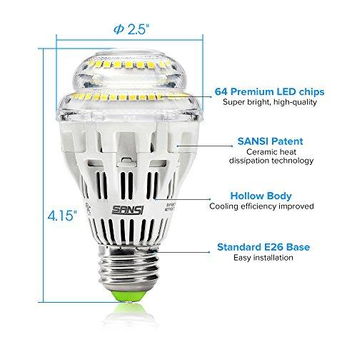 15w 150 125 watt equivalent a19 dimmable led light bulb. Black Bedroom Furniture Sets. Home Design Ideas