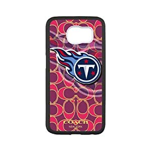 In DIYstorecase - Fashion NFL Tennessee Titans SamSung Galaxy S6 case Faceplate Hard Back Protector Case Snap On Cover fits case
