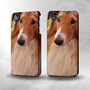 Apple iPhone 4 / 4S Case - The Best 3D Full Wrap iPhone Case - Shetland Sheepdog