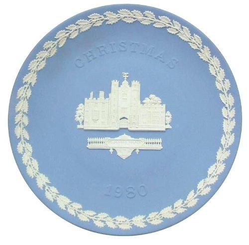 Wedgwood jasperware St James's Palace Christmas 1980 plate - CP1896