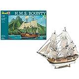 Revell Modellbausatz Schiff 1:110 - H.M.S. Bounty im Maßstab 1:110, Level 5, originalgetreue Nachbildung mit vielen Details, Segelschiff, 05404