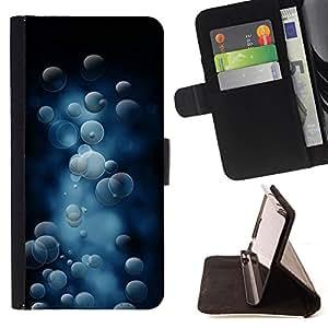 - Bubble Pattern/ Personalizada del estilo del dise???¡¯???¡Ào de la PU Caso de encargo del cuero del tir???¡¯????n del s - Cao - For Sony Xperia Z3 D6603