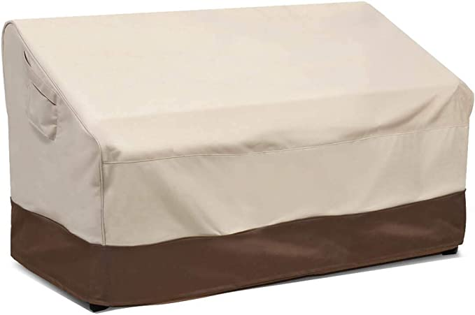 Vailge Heavy Duty Patio Bench Loveseat Cover - Sturdy