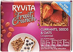Ryvita Fruit Crunch Crisp Bread, (8x25g)200g