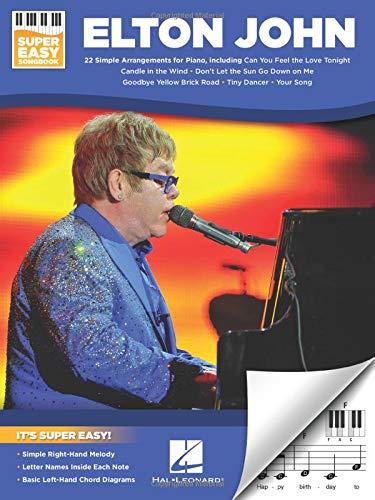 Book cover from Elton John - Super Easy Songbook by Elton John