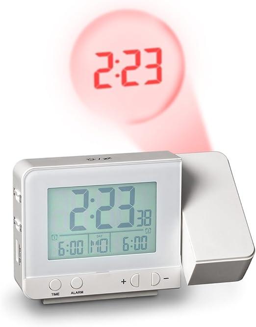 Balvi - Stellar Despertador con proyector de la Hora. con Dos ...