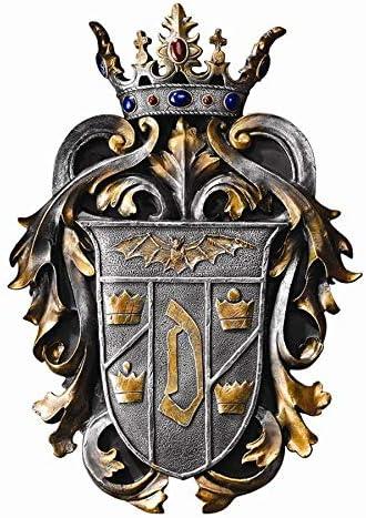Design Toscano Count Dracula s Coat of Arms Wall Plaque