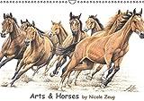 Arts & Horses (Wandkalender 2015 DIN A3 quer): Pferdeporträts by Nicole Zeug (Monatskalender, 14 Seiten)