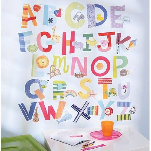 Play Alphabet Wall Decals