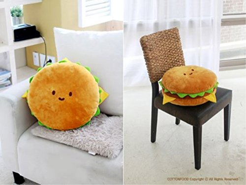 Hamburger Pillow | Food Plush 7