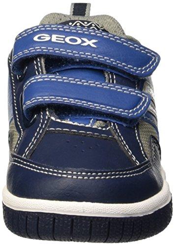 Geox Jr Gregg B, Zapatillas para Niños Blau (NAVY/GREYC0661)