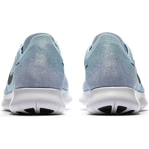 Flyknit Blue Tint Free Chaussures aurora de Blau NIKE Blue Black 2017 Bleu WMNS Vert Noir RN Trail cirrus Green Femme 5Tqxqwt6