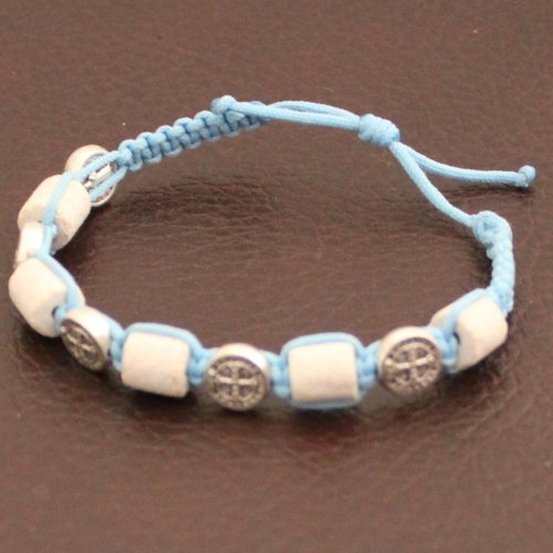 MEDJUGORJE  Chaplet  Bracelet from Apparation hill stones  shipped directl