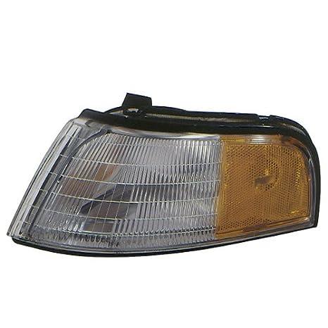 Left Driver Side LH Park Signal Light for 1990-1991 HONDA ACCORD SEDAN COUPE