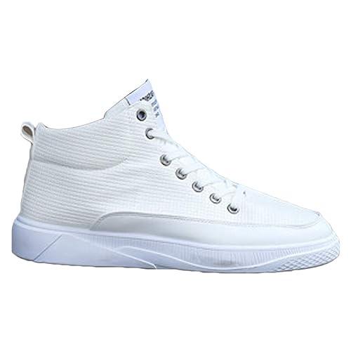 MUCHAO Botines para Hombre. Zapatos de tacón Alto de Inglaterra. Zapatillas Casual de otoño e Invierno.: Amazon.es: Zapatos y complementos