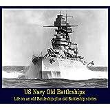 US Navy Battleships Olympia Texas Iowa Old Films WW2 WW1 WWII USN DVD