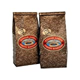 Finger Lakes Coffee Roasters, Jamaican Me Crazy Coffee, Whole Bean, 16-ounce bags (pack of two)