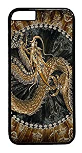 IMARTCASE iPhone 6 Case, Chinese Characters Dragon iPhone 6 Plus Case TPU White
