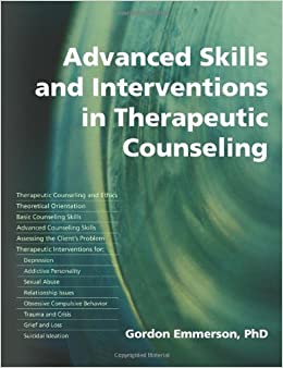 Book Advanced Skills and Interventions in Therapeutic Counseling by Gordon (2006-03-15)