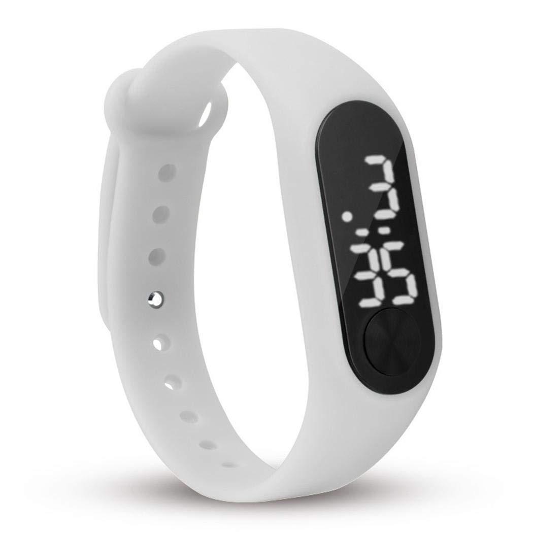 Serface Orologio da Polso Sportive Fitness Tracker Orologio Cardiofrequenzimetro LCD Digitale Activity Tracker Cardio