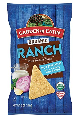 anic Ranch Corn Tortilla Chips 5 oz. (Pack of 2) ()