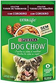 NESTLÉ PURINA DOG CHOW Ração Úmida para Cães Adultos Cordeiro ao Molho 100g