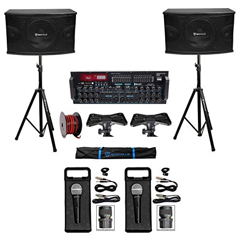 Cheap Rockville Karaoke Machine System w/(2) 10