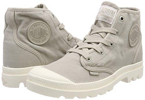Sneaker Palladium A K93 écru Alto Pampa Donna F Hi string Grigio Us Collo IBfwqBF