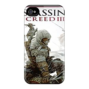 Protector Hard Cell-phone Cases For Iphone 6plus With Support Your Personal Customized Trendy Assassins Creed 3 Pattern Cases-best-covers