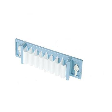 maxs Cocina pegado para colgar en la pared multifunción mercancía estante cepillo de dientes Soportes
