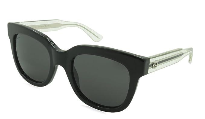 Gucci GG 3748/S Gafas de Sol, Black Crystal, 51 para Mujer ...