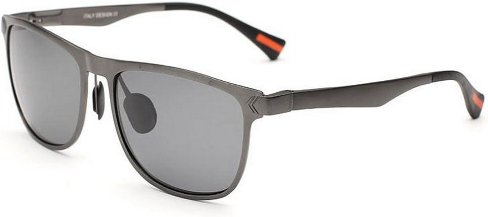 Zengqhui Gafas de Sol Unisex Gafas de Sol polarizadas para Hombres Gafas de Sol de protección UV Conducir Regalo del día del Padre Viajero Gafas de Sol clásicas Gafas de Sol polarizadas