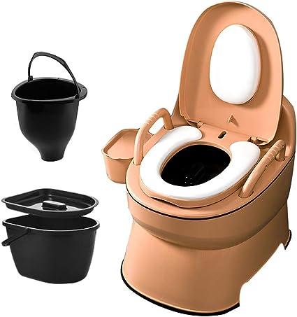 Toilet chair Inodoro portátil, Inodoro doméstico para Adultos ...