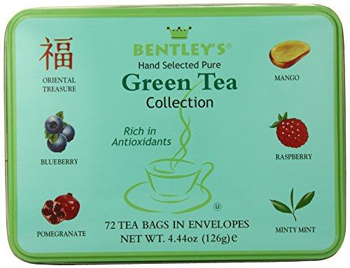 Collection Tin de Bentley, Royal Green Tea, 72 comte