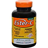 4 Pack of American Health Ester-C Powder with Citrus Bioflavonoids - 8 oz - - -