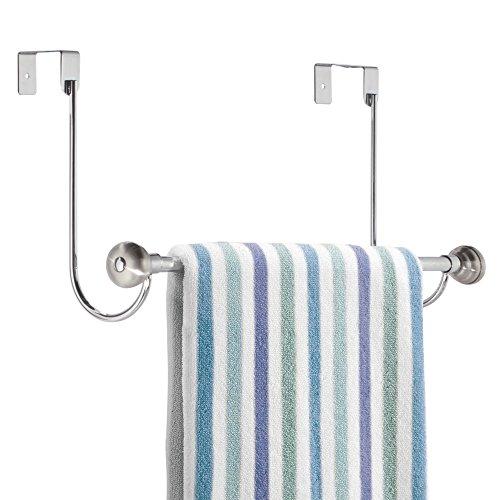 mDesign Over Shower Towel Bathroom product image