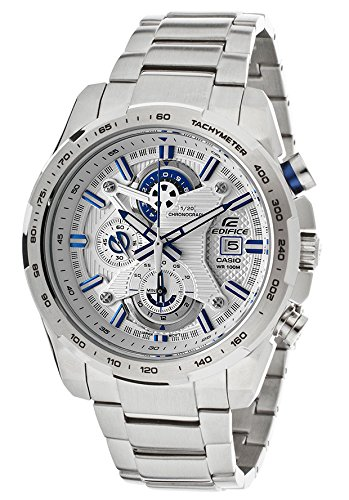 Active Chronograph Mens Watch (Casio Edifice Active Racing Chronograph White Dial Stainless Steel Mens Watch EFR523D-7AV)