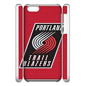 iphone6 4.7 3D Cell Phone Case White NBA LOGO Portland Trail Blazers Plastic Durable Cover Cases derf6983288
