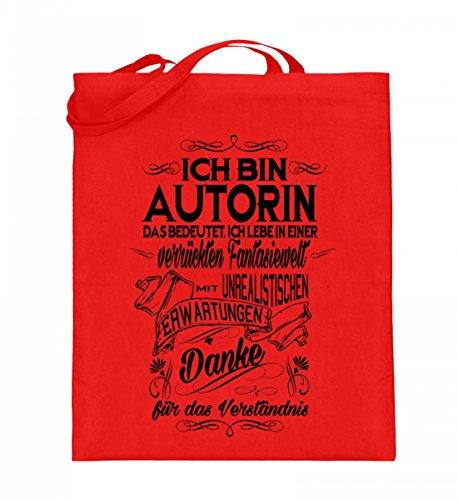 Shirtee 8024jt9m_xt003_38cm_42cm_5739 - Cotton Fabric Bag For Blue 38cm-42cm Woman Ruby red